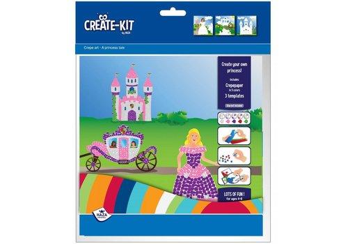 Prinsessen knutselpakketje (3 pers)