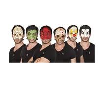 Latex (half)masker Halloween