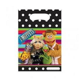 Feestzakjes Muppets (6st)