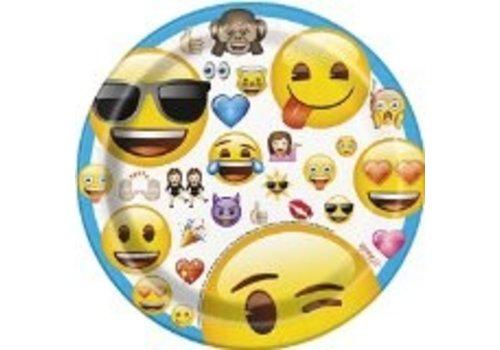 Gebakbordjes Emoticons (8st)