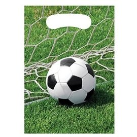 Feestzakjes voetbal (8st)