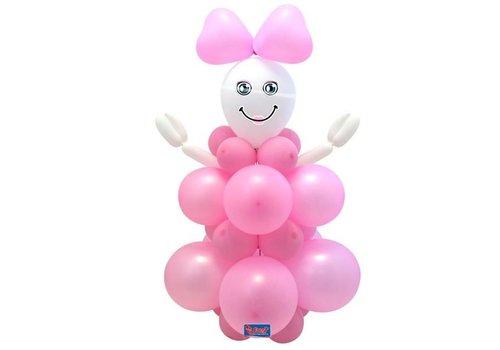 """Ballon decoratie kit """"geboorte meisje"""""""