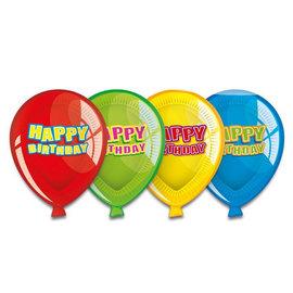 Borden in ballonvorm (6st)