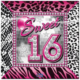 Servetten Sweet Sixteen (20st)