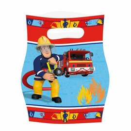 Feestzakjes Brandweerman Sam (8st)