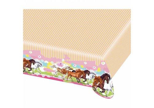 Tafelkleed Paarden
