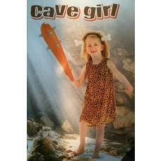 kinderkostuum cavegirl (3-5 jaar)