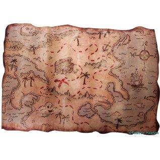 Piraten Schatkaart