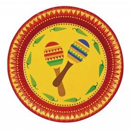 Borden Mexicaanse Fiesta (6st)