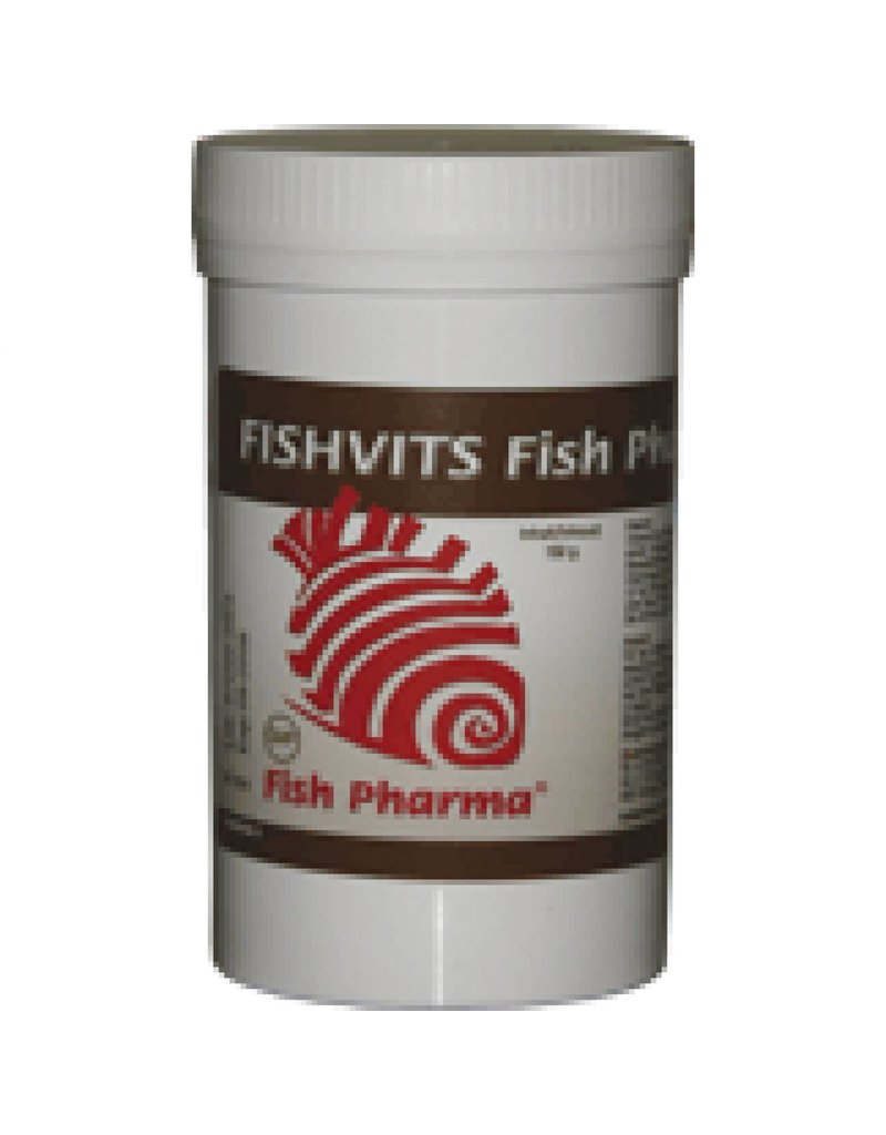 Fish Pharma Fishvits vitamins for fish.
