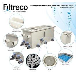 Filtreco 3 Kammer Umzug Bed Gravity Sieve