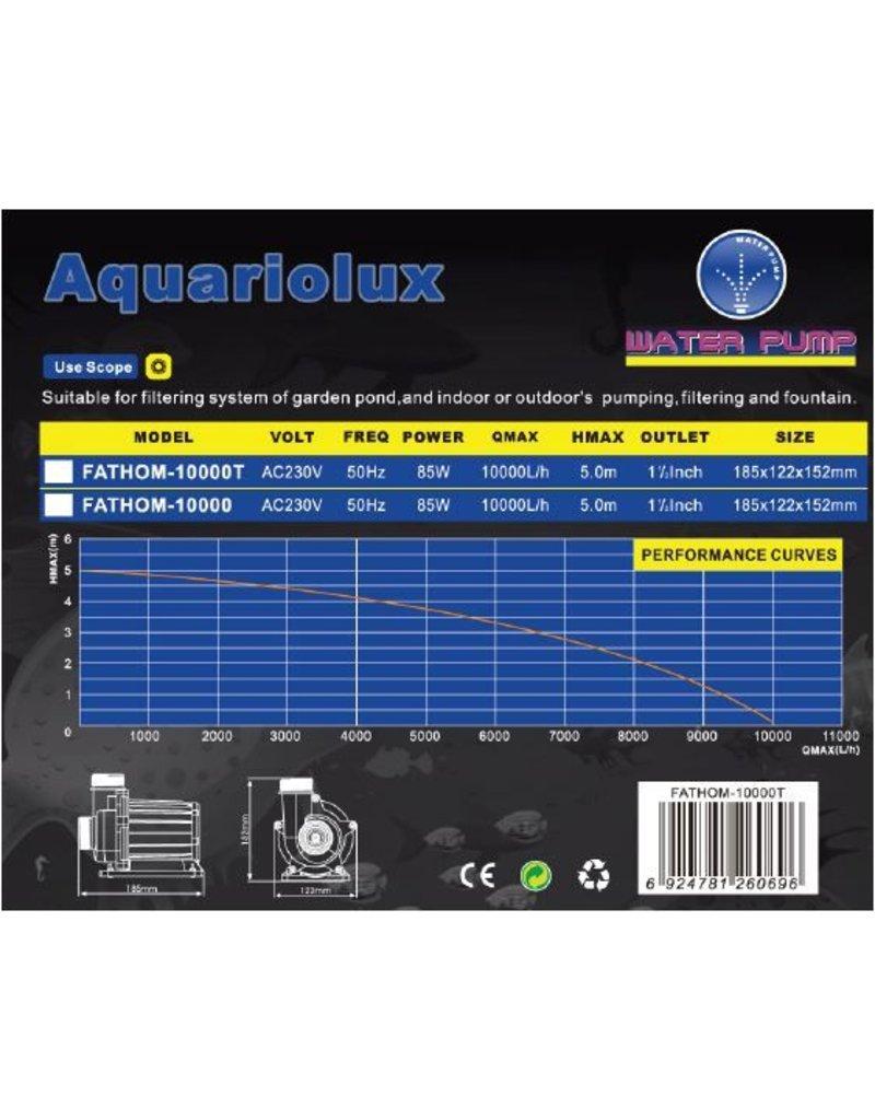 Aquariolux Fathom 10000 & 10000T 85 Watt eco vijverpompen