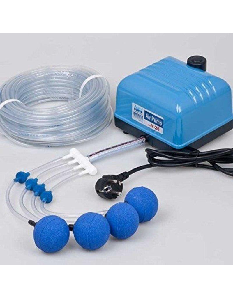 AquaForte Hi-Flow V-Series Air Pump Set