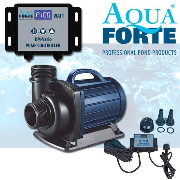 Aquaforte dm vario serie vijver filterpompen selectkoi for Filterpomp vijver