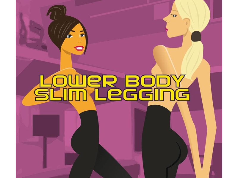 Magic Lange Zwarte Slim Legging