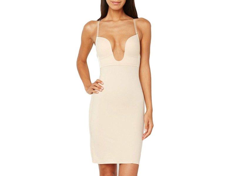 Magic Low cut V neck dress