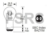 Lamp 12V-21/4W