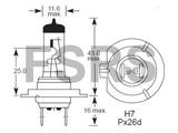 Lamp H7 12V-55W Long Life