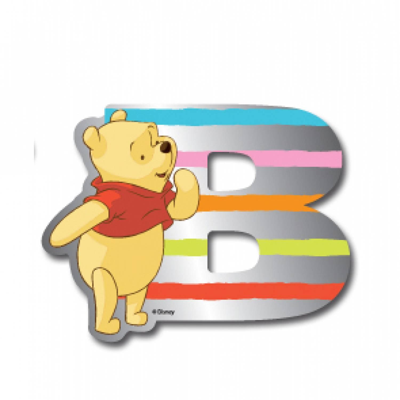Winnie the Pooh letter B spiegel SMIXS002 title=