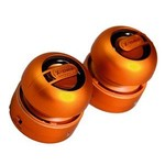 X-mini MAX Orange stereo minispeaker