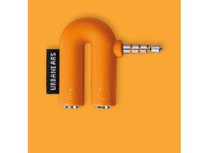 Urbanears Slussen Pumpkin signaal splitter en mobiele mix unit