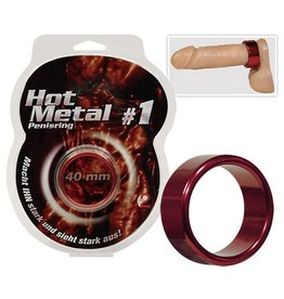 Hot Metal Ring Red 40