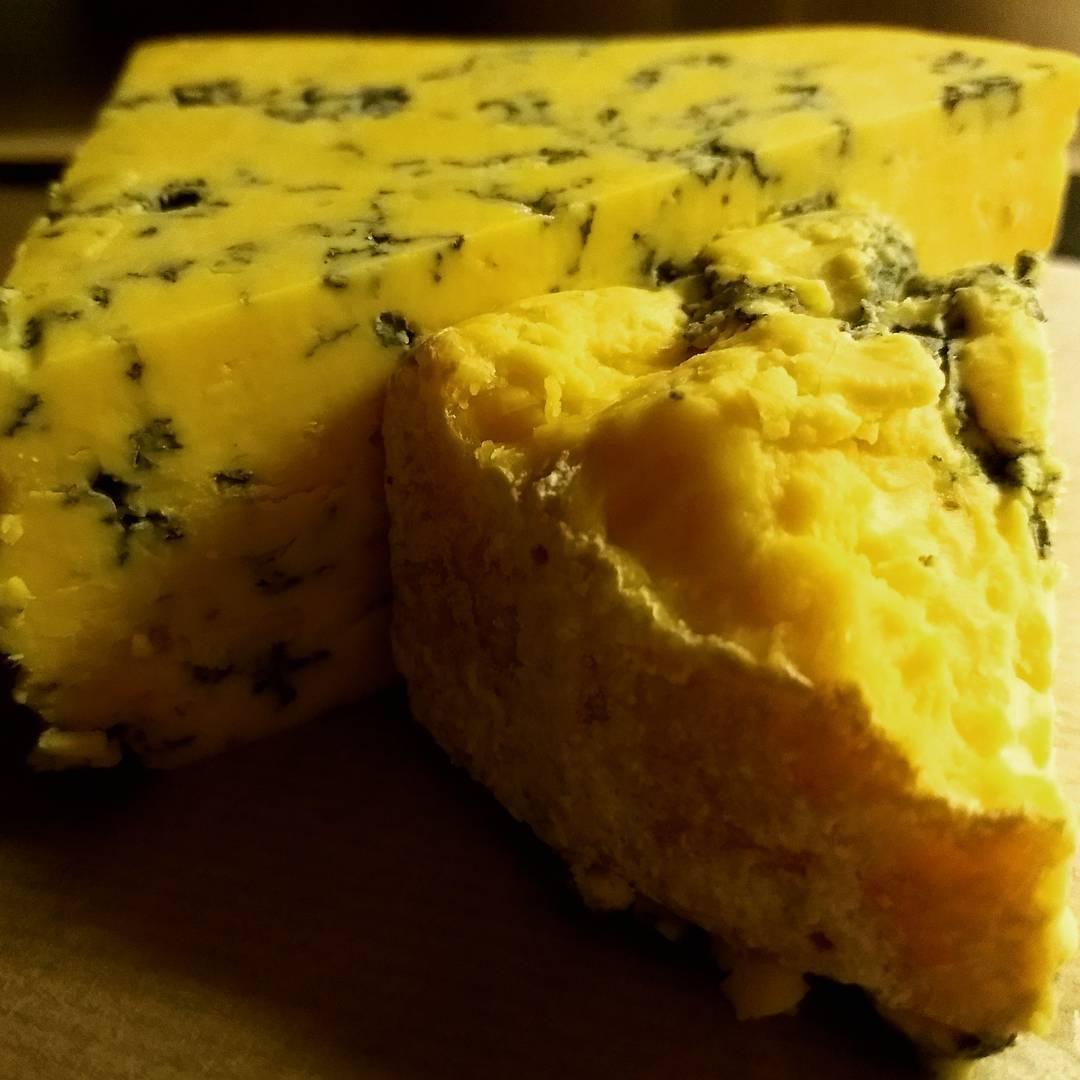 Blue shropshire kaas en port