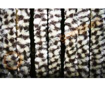 vliegengordijn bruin/beige