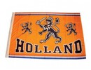 Goedope appelsin Holland Dutch Lion Flag med billede og tekst HOLLAND