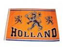 Goedope оранжево Holland Dutch Lion Flag с изображение и текст HOLLAND