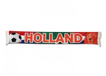 Orange Football Scarves printed Holland