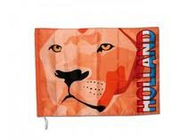 Oranje Holland Vlaggen (voorzien van de Hollandse leeuw en de tekst Holland)