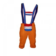 Cheap orange Holland Tiroler dungarees (adult size uni)