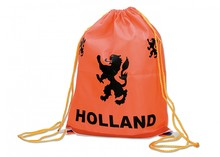Goedkope oranje Holland Rugzakjes met opdruk kopen?