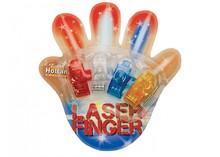 Billige Finger Lights! 4 Finger lys i en blisterpakning (i 4 forskellige farver: orange, rød, hvid og blå)