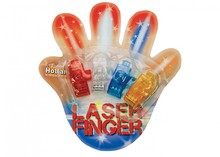 Cheap Finger Lights! 4 Finger lights in a blister package (in 4 different colors: orange, red, white and blue)
