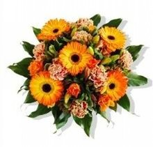 Orange Bouquet (wrapped in a protective shipping box)