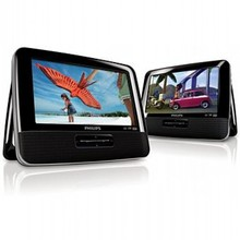 Philips Portable DVD player with dual LCD screens
