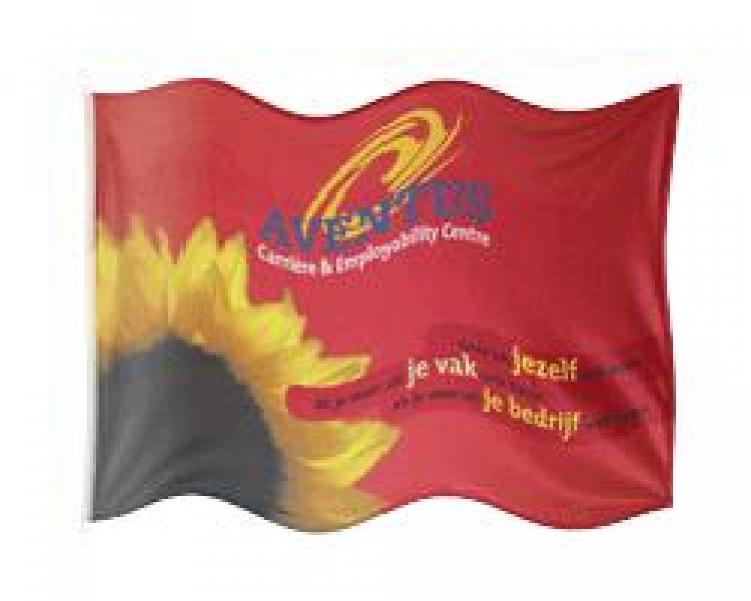 Design your own advertising flag size 150 x 225 cm
