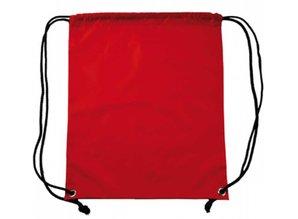 De Kleur Rood : Goedkope promo bag in de kleur rood met zwart goods and gifts