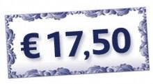 Komplimenter gave værd € 17,50