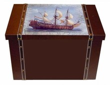 Large wooden gift box package 'Hollands Glorie'