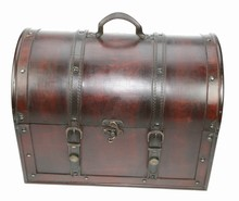Wooden colonial doctor suitcase 'Angelo'