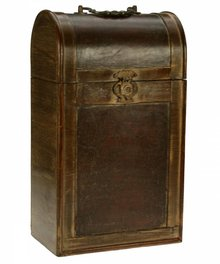 Colonial wooden wine boxes 'Philadelphia'