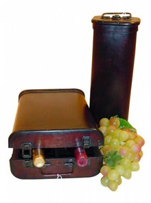 Wine case 'Chateau'