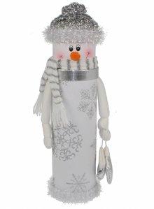 Wijnfleskoker 'Sneeuwman'