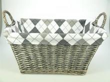 Lifestyle collectie │ Handy wicker storage basket 'Trudy'