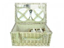 "Lifestyle collectie │ Picnic baskets ""Brussels"" (picnic basket with contents for 4 persons)"