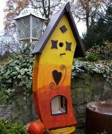 Greenwood Sunset House Bird Feeder