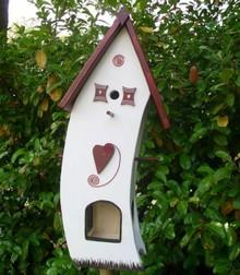 Greenwood Bird Feeder House Welcome